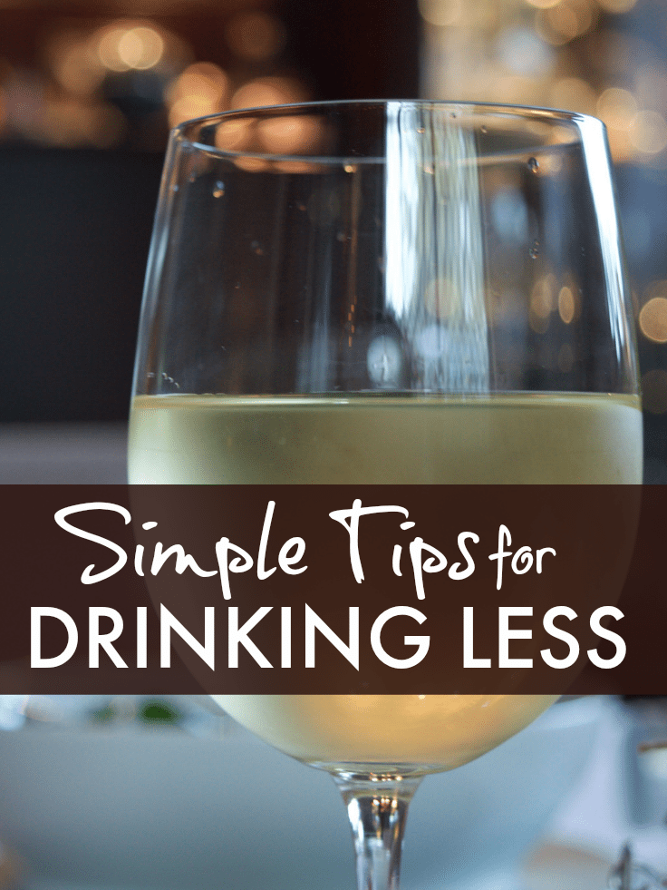 Simple tips for drinking less ... simple tips for drinking less after the indulgence of the holiday season. Really helpful if you want to go dry in January.