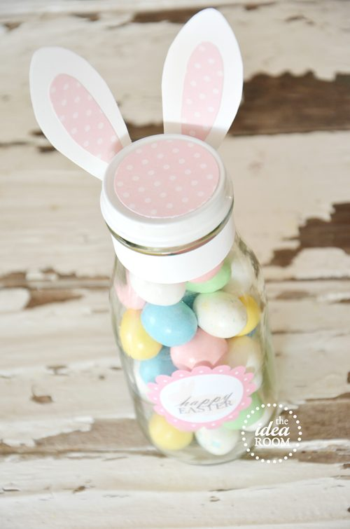 Mason jar easter gift ideas mums make lists easter mason jar with bunny ears gift idea and tutorial negle
