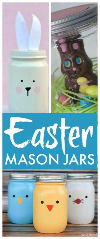 Mason jar easter gift ideas mums make lists easter mason jars lovely ideas for easter mason jars that you can make negle Image collections