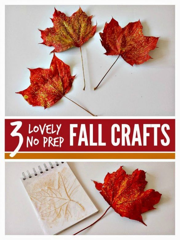 Easy No Prep Fall Crafts Mums Make Lists