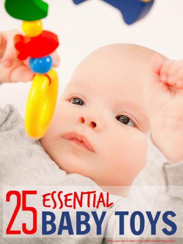 Essential baby toys that support all the development stages in baby's first year and that they will keep playing with through the first year and beyond ...
