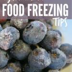 Top Food Freezing Tips