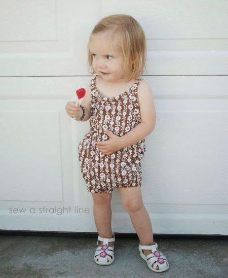 Free Baby Clothes Patterns, Free baby romper suit pattern, free downloadable baby clothes pattern
