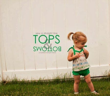 Free downloadable Baby Tops & Bottoms Pattern, Free downloadable baby clothes pattern