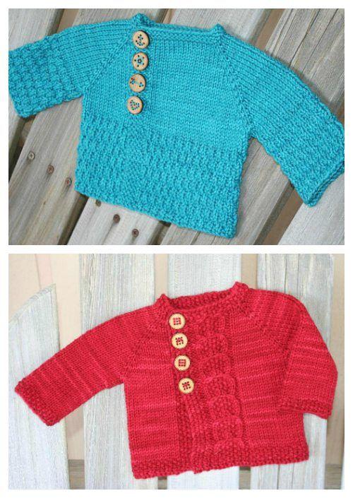 Free Baby Knitting Patterns To Print : Free Baby Knitting Patterns