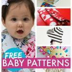 Free Baby Patterns for Bibs, Burp Cloths, Blankets & More