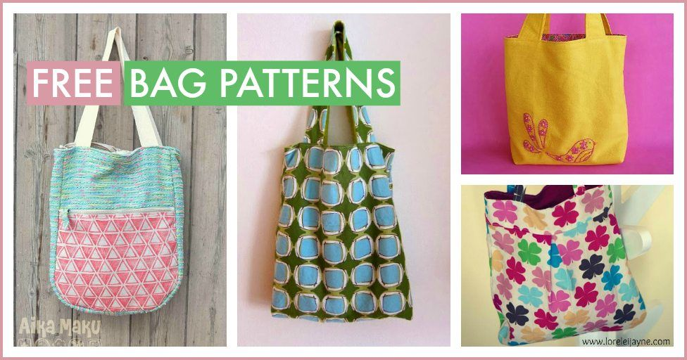 Free Bag Patterns : Free Bag Patterns - Totes, Purses, Clutches & More
