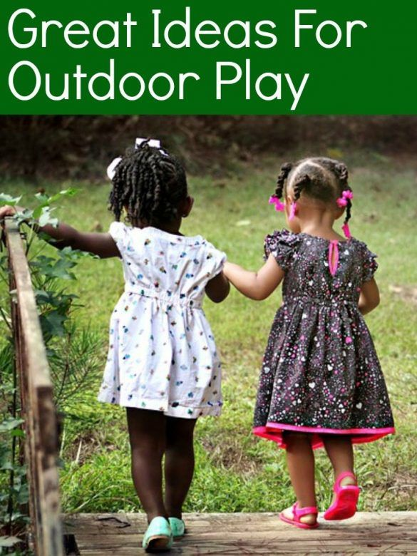 Outdoor play, ideas for outdoor play, outdoor play for toddlers, outdoor play for kids, imaginative outdoor play