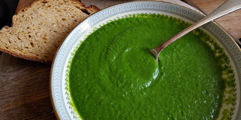 Green soup recipe - super powered green soup that really does help frazzled mums