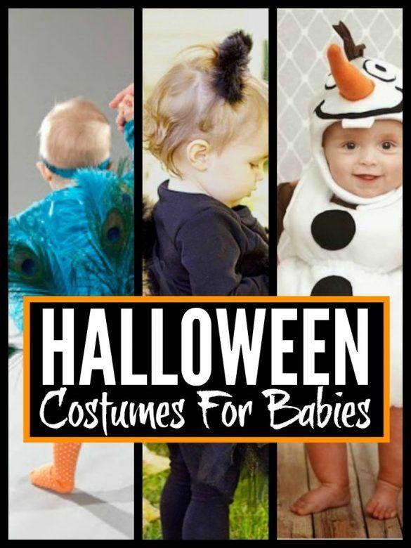 DIY Halloween Costumes For Babies ... super cute halloween costumes for babies you can make yourself
