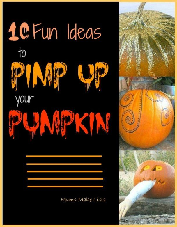 Easy pumpkin carving ideas for Halloween that you can do or that your kids can do. We've put together a list of ten great ideas to pimp up your pumpkin, click to take a look and decide which you will use this Halloween #Halloween #HalloweenDecorating #pumpkin #pumpkineverything #HalloweenParty #Lifehacksforbusymothers