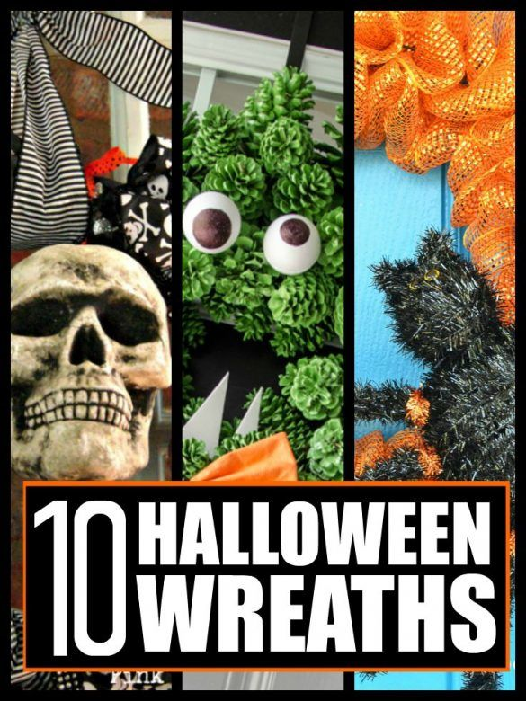 Halloween wreaths ... 10 super spooky Halloween wreaths