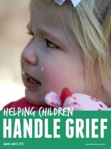 Help children handle grief