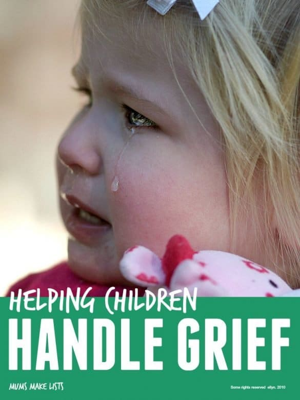 Help children handle grief