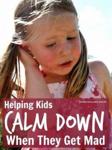 Help kids calm down ... simple parenting tips to help kids calm down when they get mad. These have really helped us with tantrums and meltdowns.