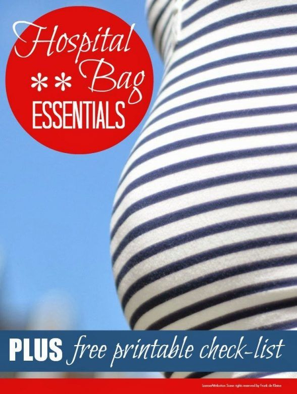 Hospital bag checklist - everything new mums and baby need in hospital