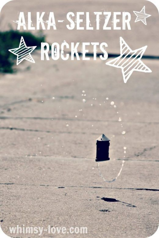 How to make rockets fly ... these fun alka seltzer rockets are a great way to introduce kids to the forces that make rockets fly