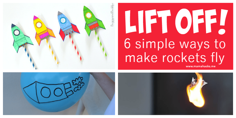 how to make homemade rockets that fly