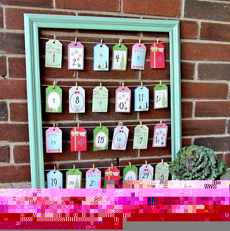 Advent calendars ... beautiful ideas for Christmas Avent Calendars that you can make yourself