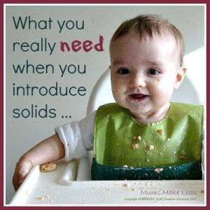 Introducing Your Baby to Solids - What You Really Need ... 1