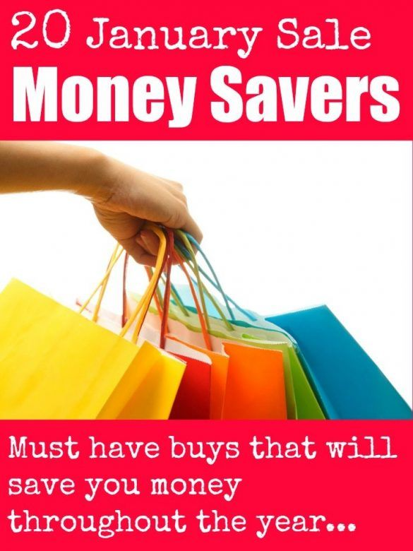 20 simple money saving tips and ideas for making big savings in the January Sales. Use a little pre-planning to work out where you can make big savings on things you actually need #Budget #Budgeting #BudgetingTips #MoneySavingTips #MoneySaving #MoneySavingMom #MoneySavingIdeas