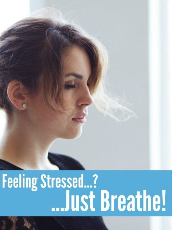 Feeling stressed? Just breathe! Use the four breathing technique to calm yourself down when you're feeling stressed