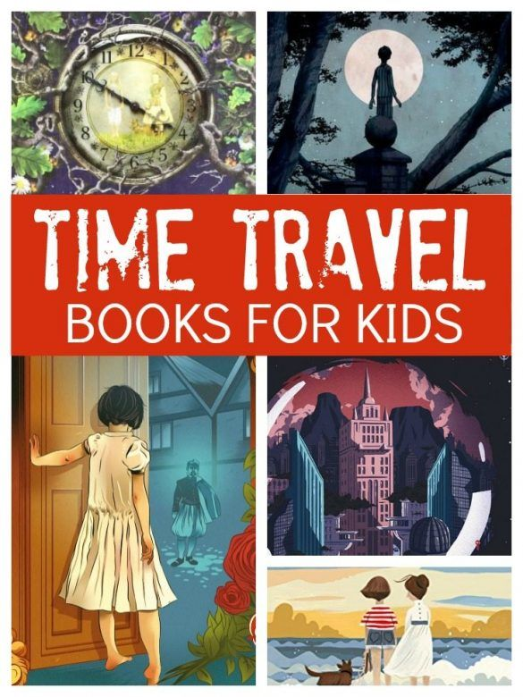 Kids books - brilliant time travel books for kids