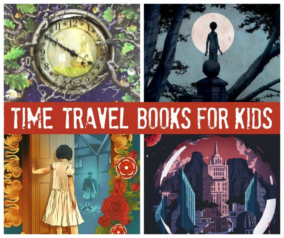 Kids books - time travel books for kids