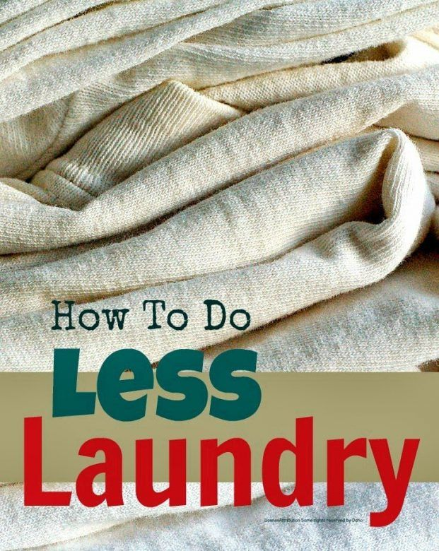Laundry - simple tips for conquering the laundry mountain
