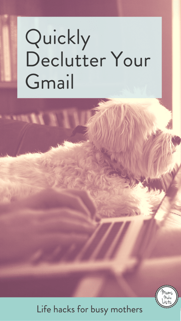 How to quickly declutter your Gmail