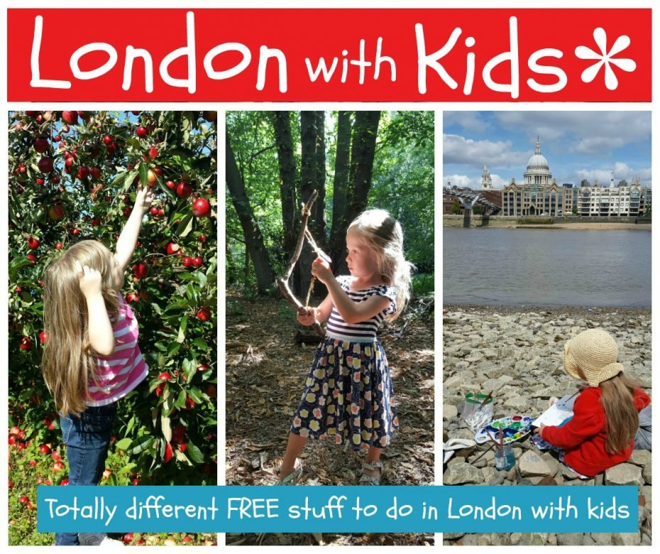 London with kids ... totally different FREE stuff to do in London with kids