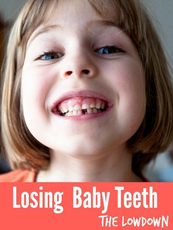 Losing baby teeth - all the things you need to know when your child loses their first tooth