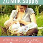 Simple tips to increase breastmilk supply 1