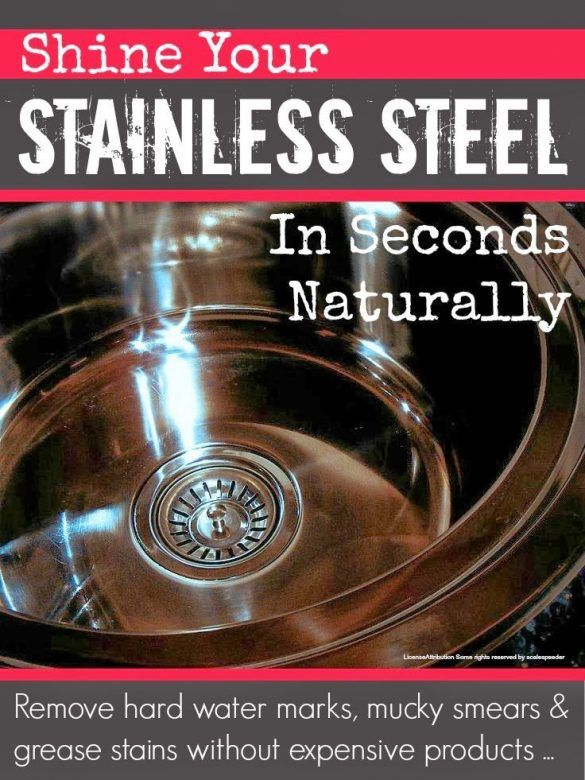 how to clean and shine stainless steel pots