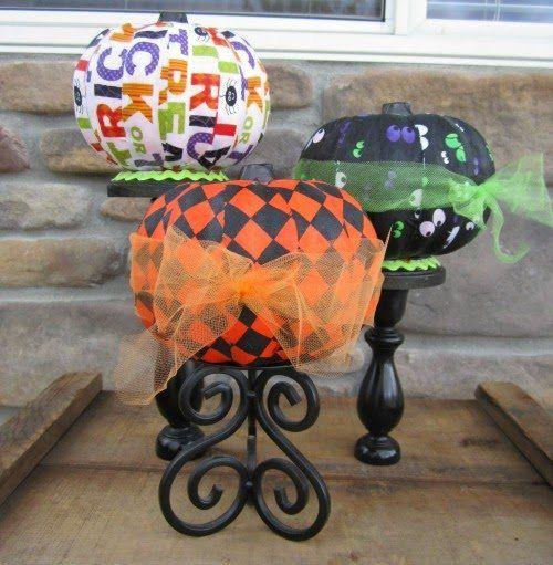 Easy no carve pumpkins for Halloween