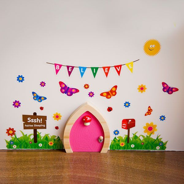 Tooth fairy inspiration and printables mums make lists for Fairy door shapes