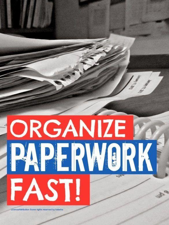 OrganizePaperwork
