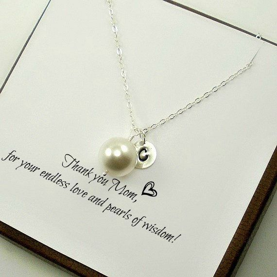 Personalized Mom Necklace, Mom Necklace, Mother's Day Gifts, Mother's Necklace Initials, Mom Birthday Gift, New Mom Necklace, Etsy, New Mom Gifts