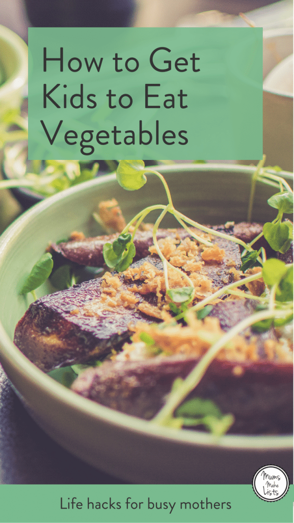 Tips and ideas to get picky eaters to eat their vegetables. Hidden veggies in healthy kids' food is a great way to get children eating vegetables, we've put together a list of 25 ideas for easy ways to get kids to eat their vegetables #HiddenVegetables #kidsfood #healthykidsfood