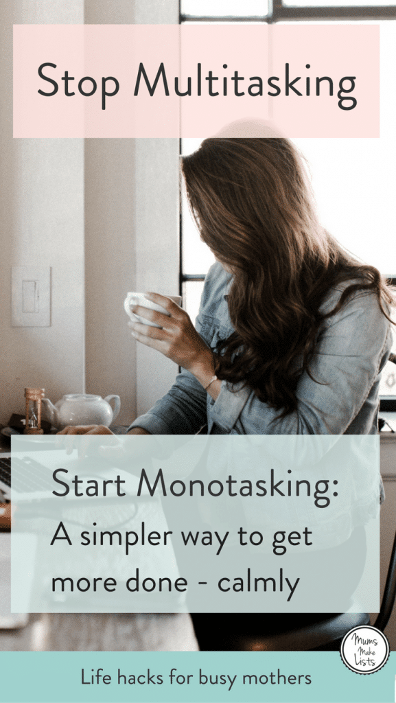 A simple way to get more done everyday and feel calmer ...