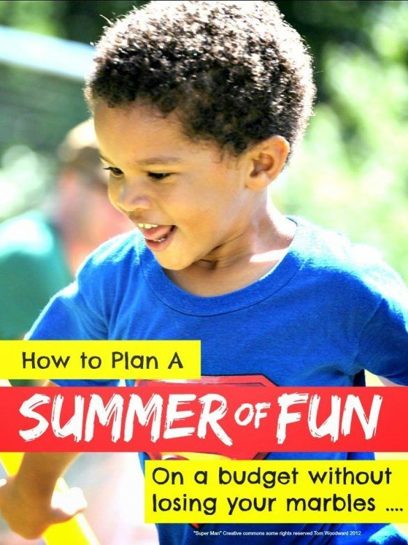 Summer fun ... how to plan a summer of fun for the kids on a budget