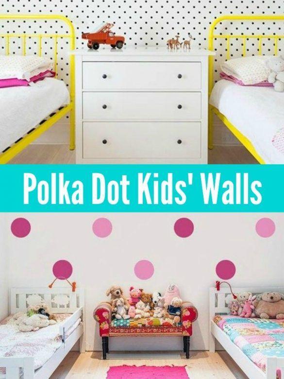 Polka Dot Kids Walls, Polka Dot Decals, Polka Dot Wall Stickers, Polka ...