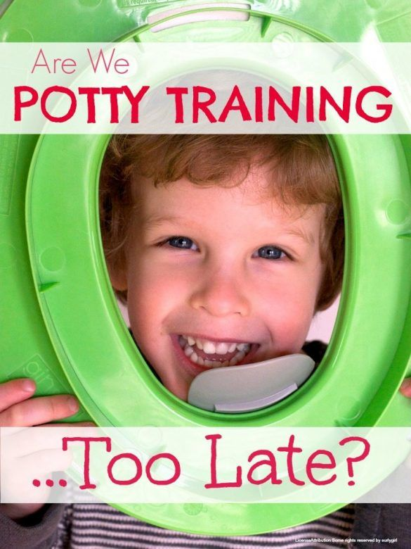 Potty training - are we potty training too late? And is this a problem for the planet, our purses and our kids?