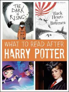 Kids books - what to read after Harry Potter