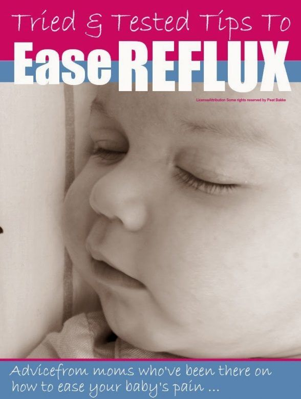 """Reflux - tips to ease baby reflux from mums whose babies suffered with it"""""""