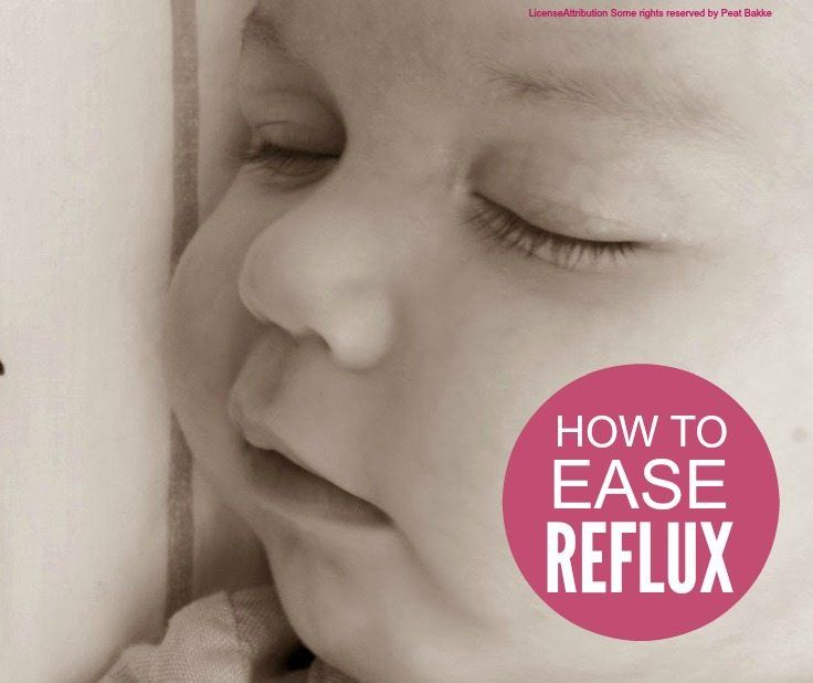 Reflux - how to ease reflux