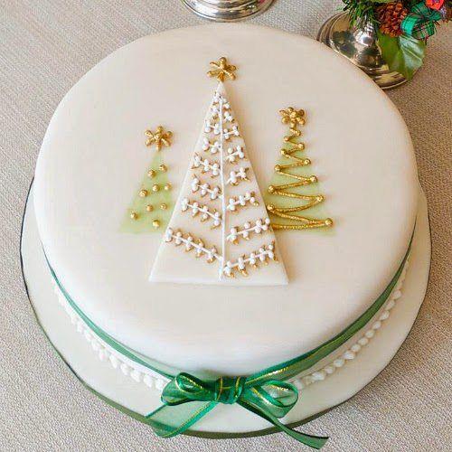 18 Christmas cake decorating ideas 2