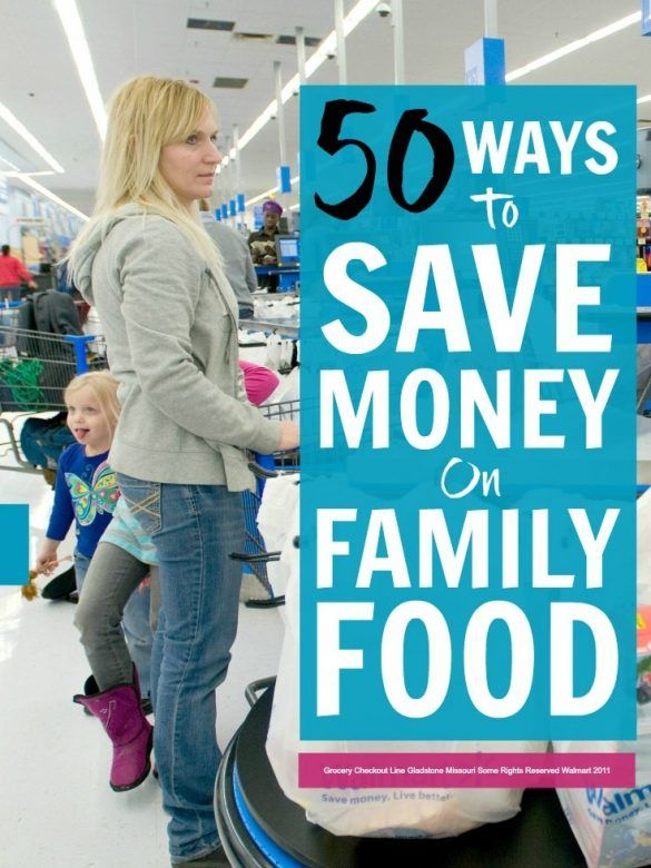 Save money on family food - 50 easy ways to really slash your grocery bills