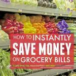 How To Quickly Save Money On Groceries