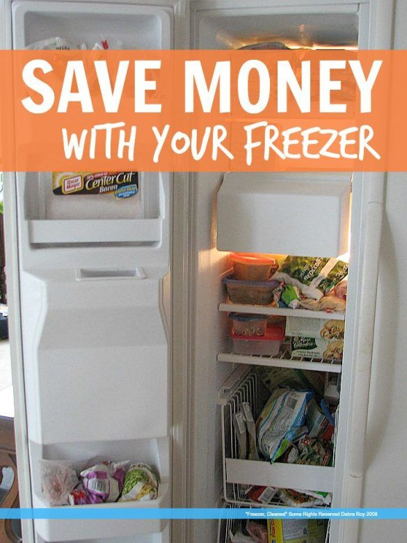 Save money with your freezer - 5 simple ways to use your freezer to stop wasting money on food